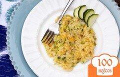 Фото рецепта: «Рис с кабачком»