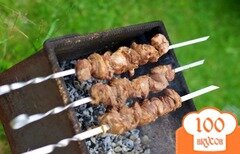 Фото рецепта: «Шашлык по-кавказски из свинины»