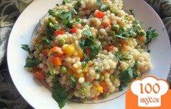 Фото рецепта: «Весенний салат с кускусом»