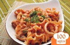 Фото рецепта: «Макароны с морепродуктами»