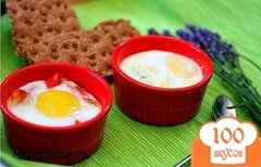 Фото рецепта: «Яйца-кокот: 2 варианта»