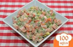 Фото рецепта: «Салат из помидора и авокадо»