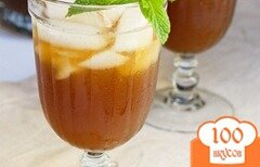 Фото рецепта: «Холодный чай с манго»