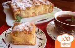Фото рецепта: «Яблочно- виноградный пирог»