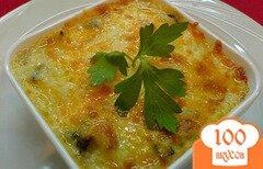Фото рецепта: «Опята с сыром»