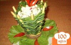 Фото рецепта: «Корзинка с салатом.»