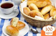 Фото рецепта: «Пирожки с рисом и яйцом»