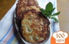 Фото рецепта: «Хлебные тефтели с мятой»