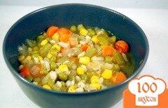 Фото рецепта: «Овощной суп с ячменем»