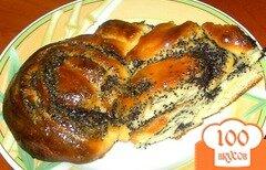 Фото рецепта: «Сдобный пирог с маком»