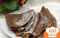 Фото рецепта: «Шоколадные блинчики»