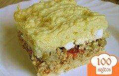 Фото рецепта: «Аргентинский мясной пирог с картофелем»