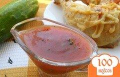 Фото рецепта: «Томатно-апельсиновый соус»