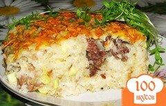 Фото рецепта: «Запеканка с куриным фаршем»
