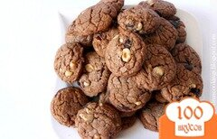Фото рецепта: «Печенье с нутеллой»