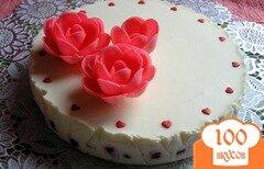 Фото рецепта: «Торт Белый танец»