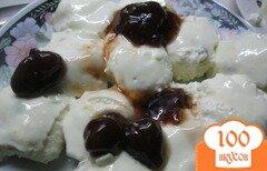 Фото рецепта: «Творожные бабки с изюмом»
