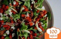 Фото рецепта: «Салат с печеной тыквой»