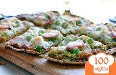 Фото рецепта: «Запеченные лепешки с овощами»