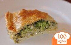 Фото рецепта: «Пирог с брокколи»