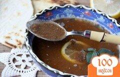 Фото рецепта: «Греческий постный суп из чечевицы»