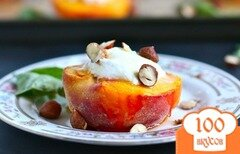 Фото рецепта: «Персики с сыром и орехами»
