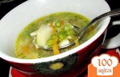 Фото рецепта: «Суп с зеленым горошком»