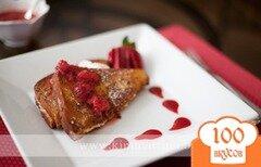Фото рецепта: «Французские тосты с начинкой из творожной пасты»