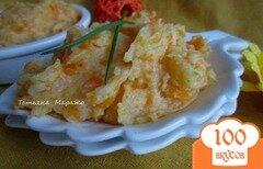 Фото рецепта: «Давленый картофель с морковью и карри»