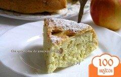 Фото рецепта: «Пирог с яблоками (в мультиварке)»