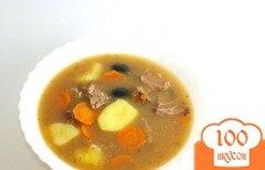 Фото рецепта: «Густой суп»
