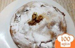 Фото рецепта: «Ореховый пирог с пропиткой»
