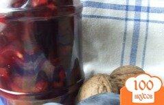 Фото рецепта: «Сливовое варенье с орехами и бальзамом»