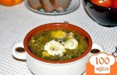 Фото рецепта: «Суп из щавеля консервированного»
