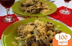 Фото рецепта: «Домашние папарделли с грибным соусом»