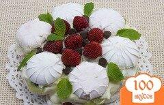 Фото рецепта: «Торт из зефира без выпечки»