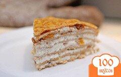 Фото рецепта: «Блинный торт с творожной начинкой»