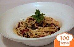 Фото рецепта: «Паста с карамелизированным луком»