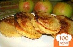 Фото рецепта: «Жареные пирожки с яблоками на кефирном тесте»