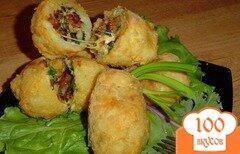 Фото рецепта: «Фаршированный картофель»