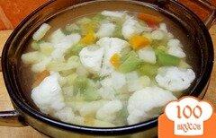 Фото рецепта: «Суп из овощей аль денте»