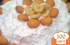 Фото рецепта: Банановый пудинг