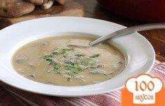 Фото рецепта: «Суп-пюре из шампиньонов»