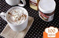 Фото рецепта: «Горячий шоколад с нутеллой»