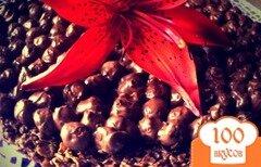 Фото рецепта: «Шоколадный хрустящий торт»