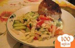Фото рецепта: «Котлеты из куриного филе с сыром»