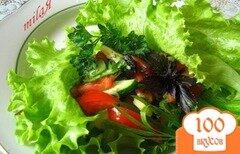 Фото рецепта: «Салат с авокадо, помидорами и огурцами»