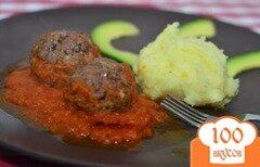 Фото рецепта: «Мясные шарики по-итальянски»