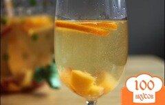 Фото рецепта: «Персиковая сангрия»