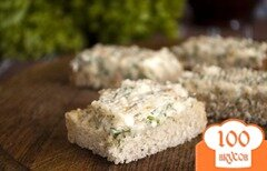 Фото рецепта: «Бутербродное масло с кальмаром»